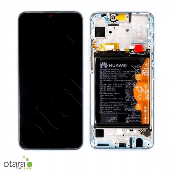 Displayeinheit inkl. Rahmen, Akku Huawei Honor 10 Lite (HRY-LX1), sapphire blue, Serviceware