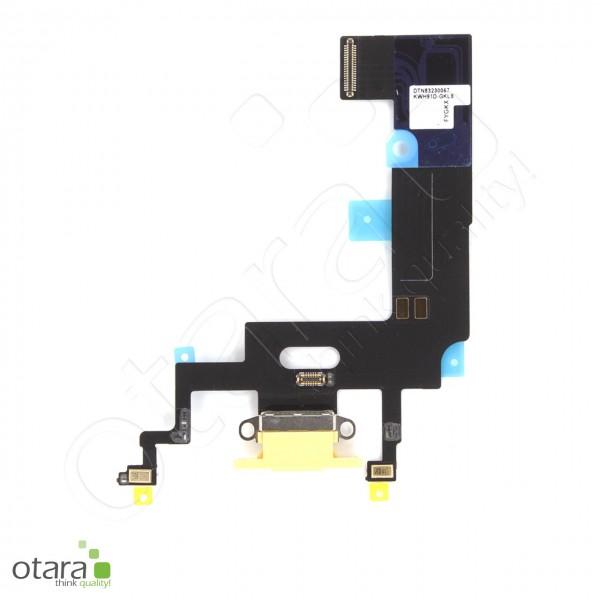 Lade Dock Connector Flex geeignet für iPhone XR (Ori/pulled Qualität), gelb