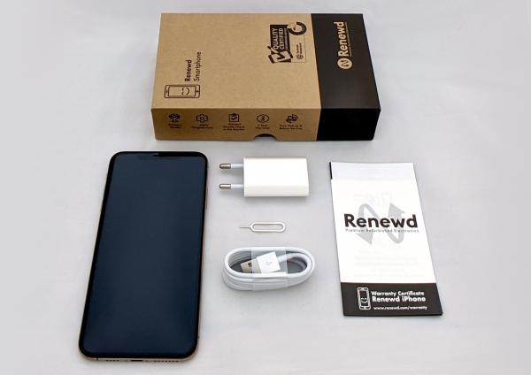 Renewd© Apple iPhone XS Max, 256GB (zert. aufbereitet), weiß