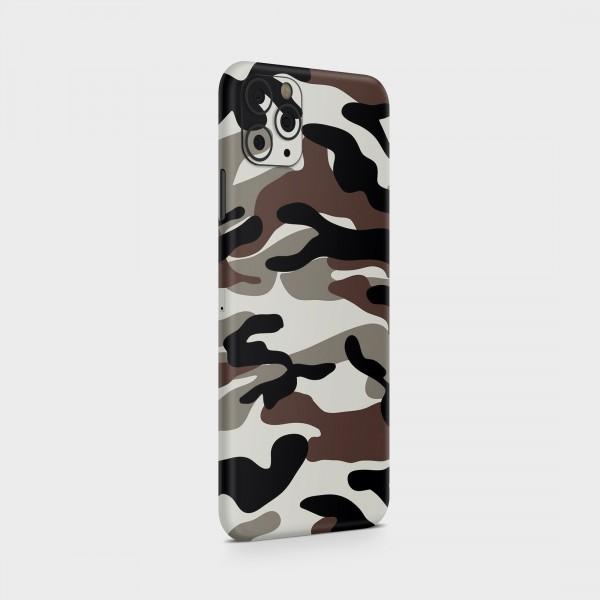 "GREEN MNKY Backcover Skin Smartphone 7"" (Struktur Serie) ""Camouflage Earth"" [3 Stück]"