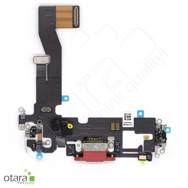 Lade Konnektor Flexkabel geeignet für iPhone 12 (Ori/pulled Qualität), rot (PRODUCT Red)