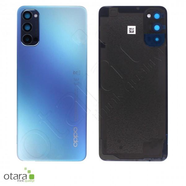 Akkudeckel OPPO RENO4 5G, galactic blue, Serviceware