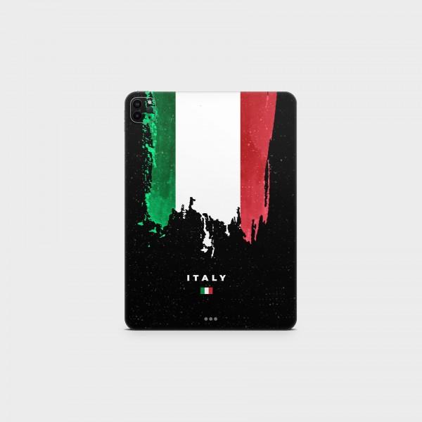 "GREEN MNKY Backcover Skin Tablet 11"" (Flags Serie) ""Italy Flag"" [3 Stück]"