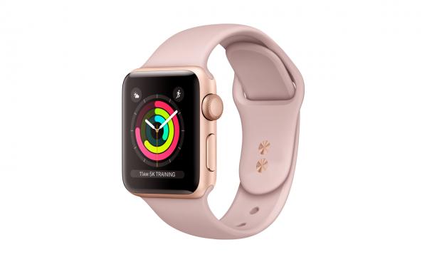 Renewd© Apple Watch Series 4, 44mm (zert. aufbereitet), rosegold