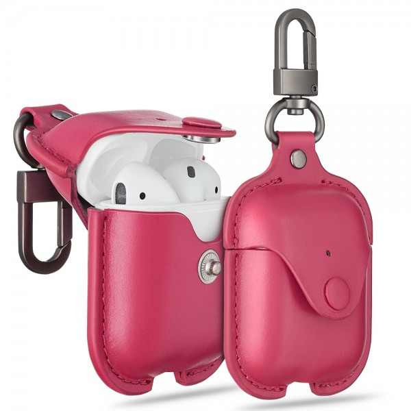 ESR Accessories Airpod Oxford Leather Case Pink