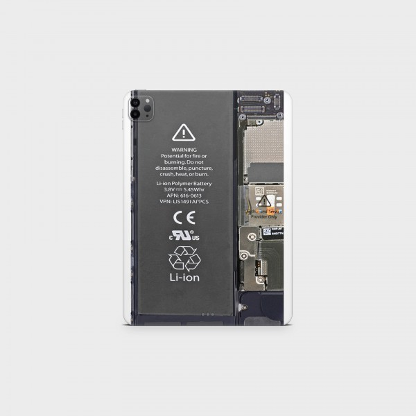 "GREEN MNKY Backcover Skin Tablet 11"" (Design Serie) ""Smartphone 7"" Board"" [3 Stück]"