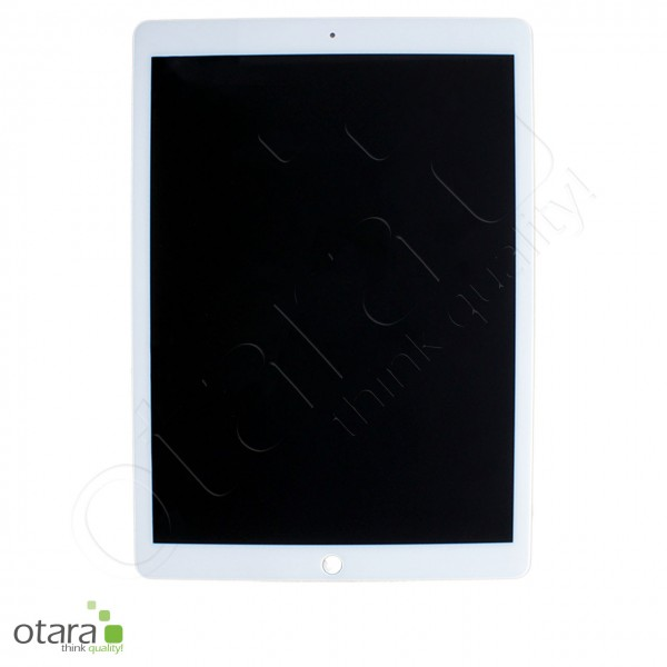 Displayeinheit (LCD+Touch) geeignet für iPad Pro 12.9 (2017) A1670/A1671 inkl.LCD Flex/Chip, weiß