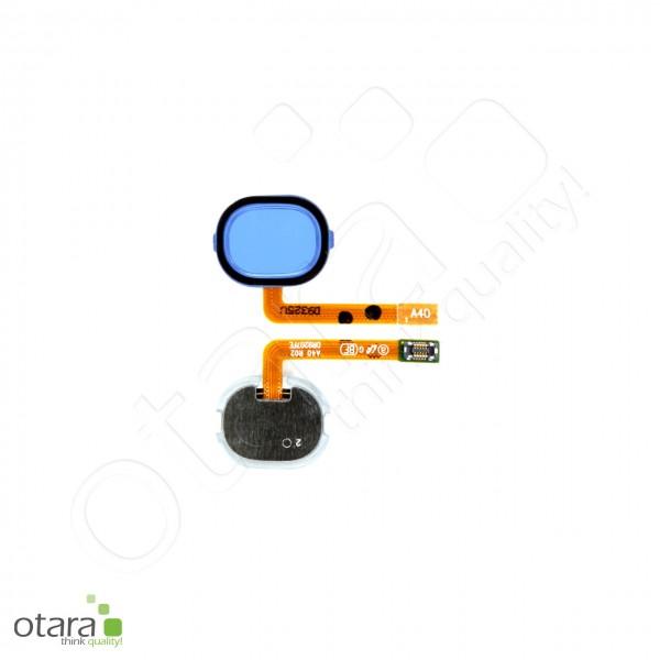 Samsung Galaxy A40 (A405F) Home Button Flex, blue, Serviceware