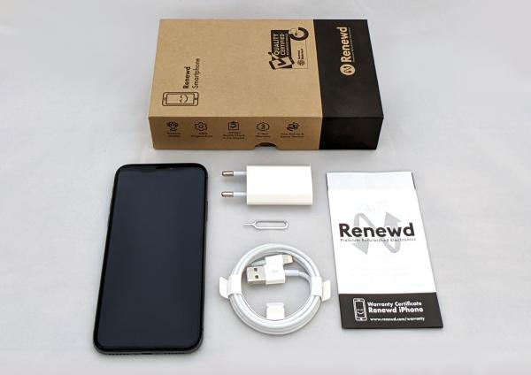 Renewd© Apple iPhone X, 64GB (zert. aufbereitet), schwarz