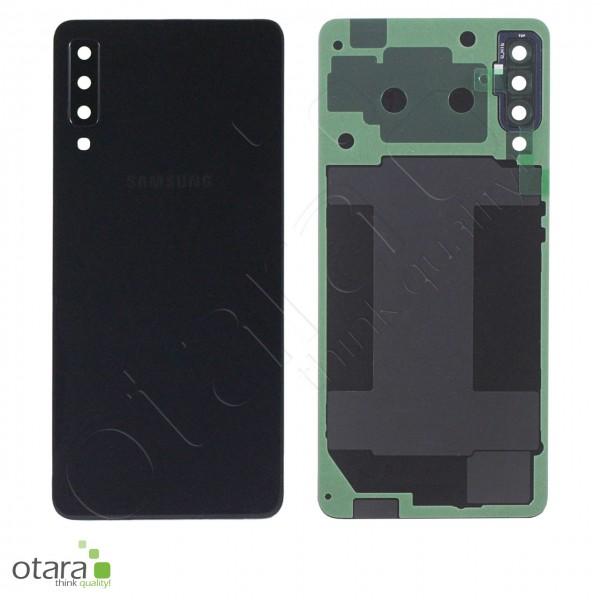 Akkudeckel Samsung Galaxy A7 2018 (A750F), Black, Serviceware