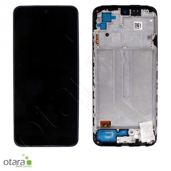 Displayeinheit XIAOMI Redmi Note 10 4G (M2101K7AG), Onyx Gray (schwarz), Serviceware