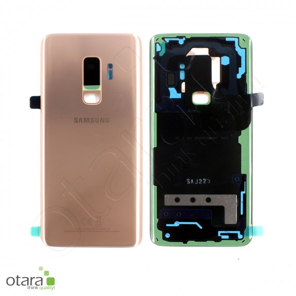 Akkudeckel Samsung Galaxy S9 Plus (G965F), sunrise gold, Serviceware