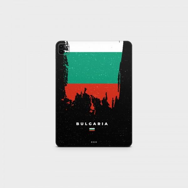 "GREEN MNKY Backcover Skin Tablet 11"" (Flags Serie) ""Bulgaria Flag"" [3 Stück]"