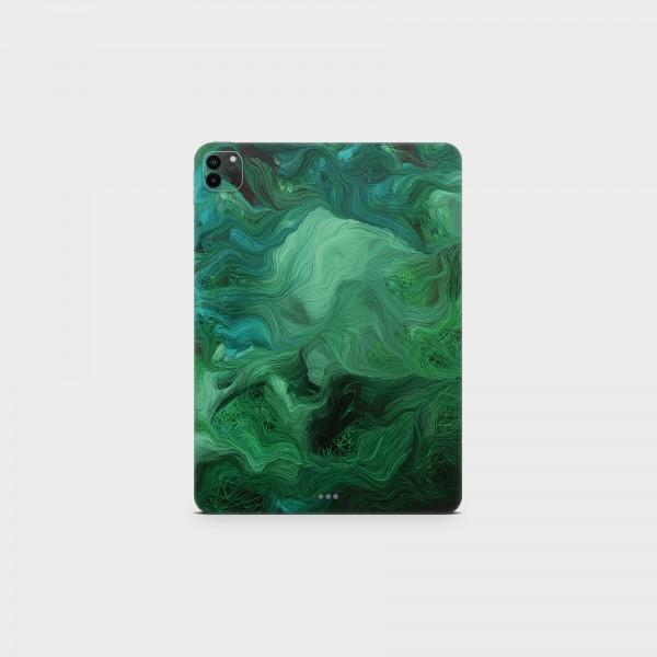 "GREEN MNKY Backcover Skin Tablet 11"" (Struktur Serie) ""Green Dream"" [3 Stück]"