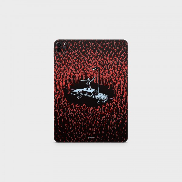 "GREEN MNKY Backcover Skin Tablet 11"" (Design Serie) ""Hero"" [3 Stück]"
