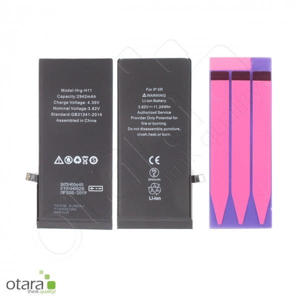 Akku Premium mit TI Chip geeignet für iPhone XR, 3.79V 2942mAh (inkl. Akkuklebestreifen)