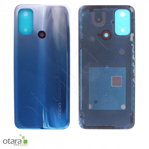 Akkudeckel OPPO A53/A53s, fancy blue, Serviceware