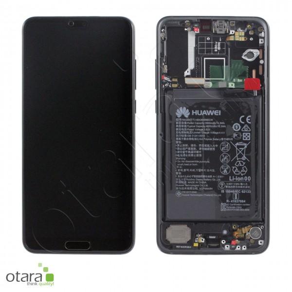 Displayeinheit Huawei P20 Pro, black, Serviceware
