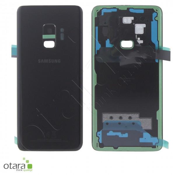 Akkudeckel Samsung Galaxy S9 (G960F), midnight black, Serviceware