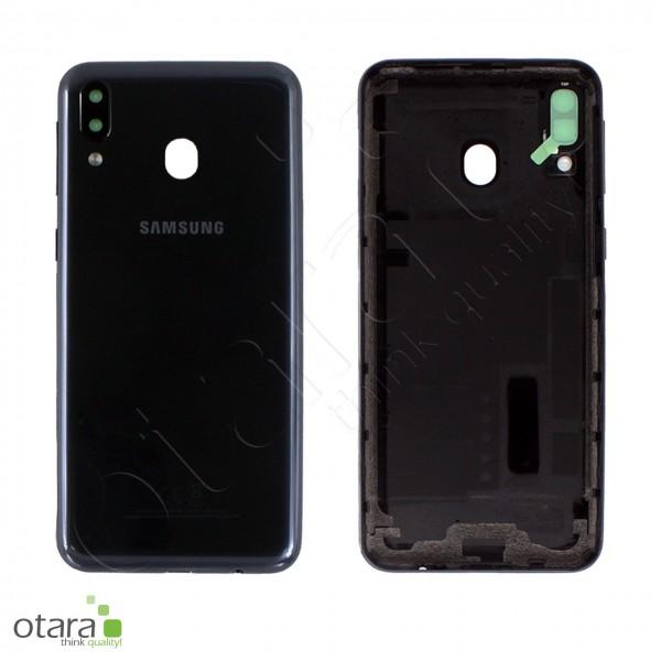 Akkudeckel Samsung Galaxy M20 (M205F), charcoal black, Serviceware