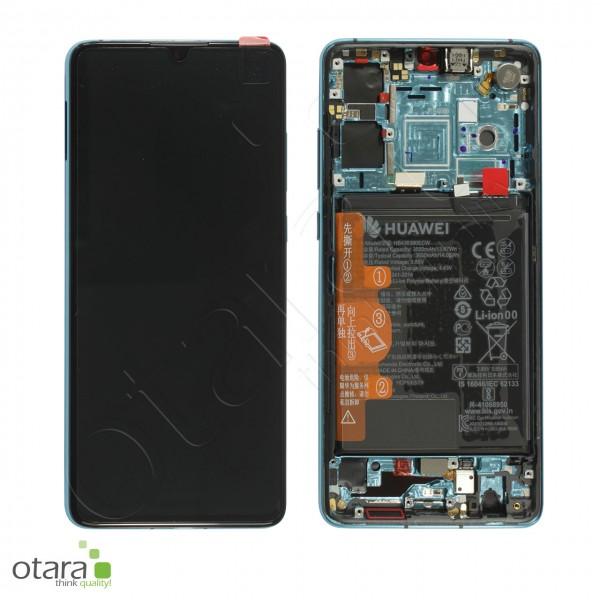 Displayeinheit Huawei P30 (ab EMUI 11.0.0.156), aurora blue, Serviceware