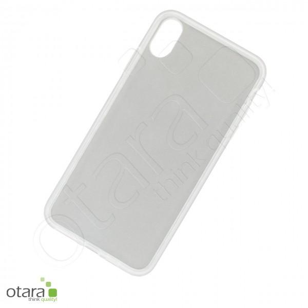 Silikoncase/Schutzhülle für iPhone XS Max, transparent