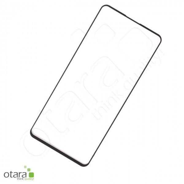 Schutzglas Edge to Edge (full glue) für Samsung Galaxy A90 5G, schwarz (ohne Verpackung)