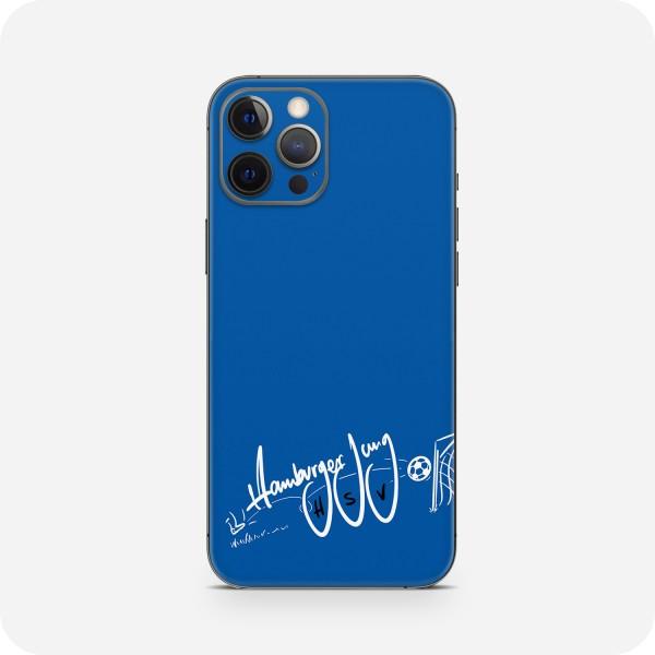 "GREEN MNKY Backcover Skin Smartphone 7"" (HSV Kollektion) ""HSV Hamburger Jung Blue"" [3 Stück]"