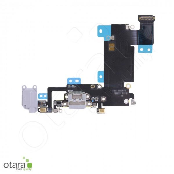 Lade Dock Connector + Audio + Mikrofon Flex geeignet für iPhone 6s Plus, schwarz