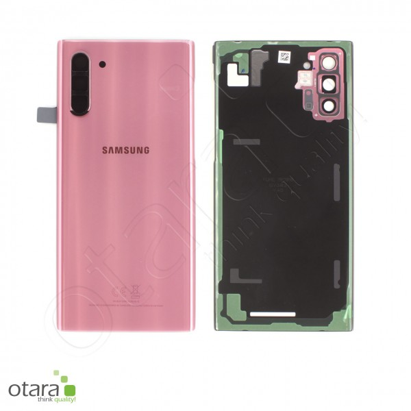 Akkudeckel Samsung Galaxy Note 10 (N970F), aura pink, Serviceware