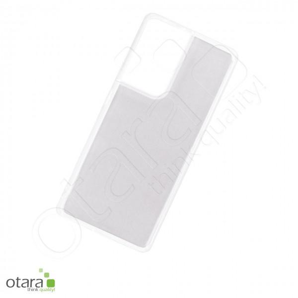 Silikoncase/Schutzhülle für Samsung Galaxy S21 Ultra, transparent