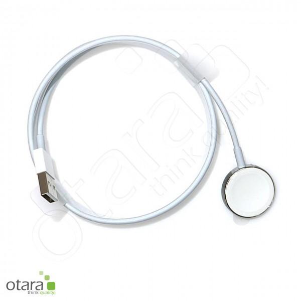 Ladekabel/Ladegerät USB/magnetisch geeignet für Apple Watch, 1m, weiß
