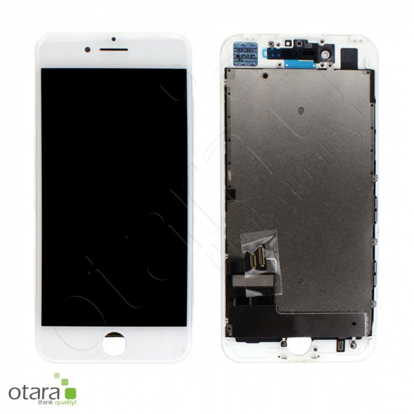 Displayeinheit geeignet für iPhone 7 (refurbished) inkl. Heatplate, weiß
