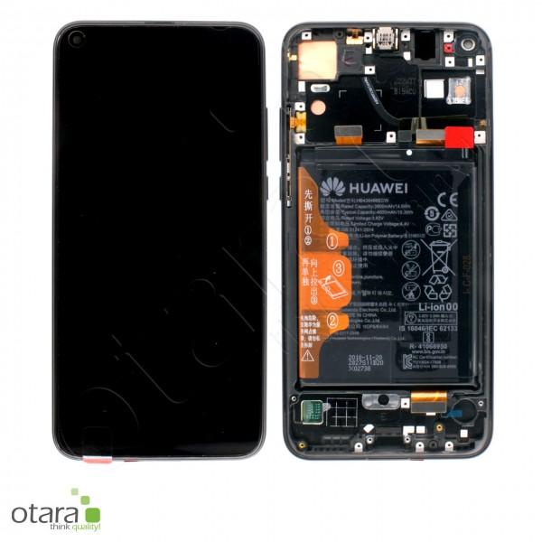 Displayeinheit inkl. Rahmen, Akku Huawei Honor View 20, midnight black, Serviceware