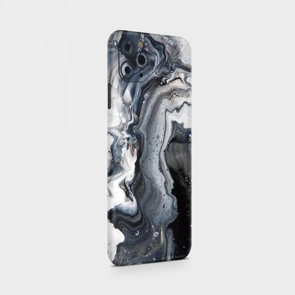 "GREEN MNKY Backcover Skin Smartphone 7"" (Struktur Serie) ""Noir Blanche"" [3 Stück]"