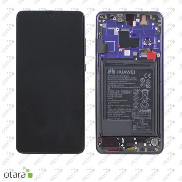 Displayeinheit Huawei Mate 20, twilight, Serviceware