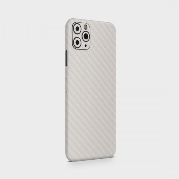 "GREEN MNKY Backcover Skin Smartphone 7"" (Struktur Serie) ""Carbon White"" [3 Stück]"