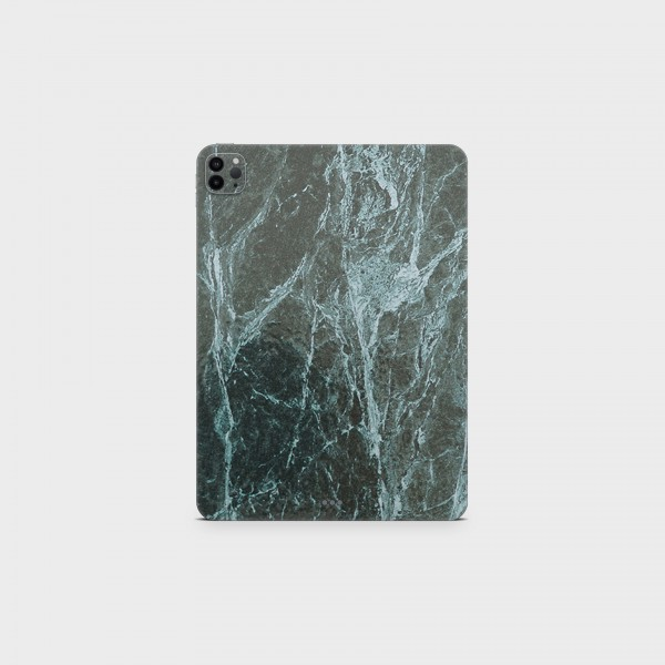 "GREEN MNKY Backcover Skin Tablet 11"" (Struktur Serie) ""Green Marble"" [3 Stück]"