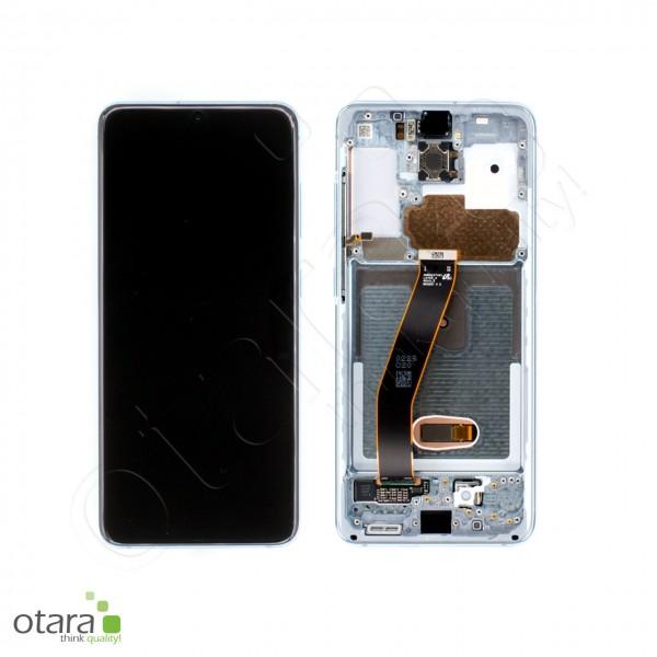 Displayeinheit Samsung Galaxy S20 (G980F), 5G (G981B), cloud blue, Serviceware