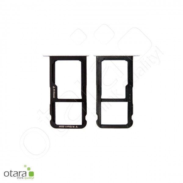 Huawei P10 Lite SIM + SD Tray Single, graphite black, Serviceware