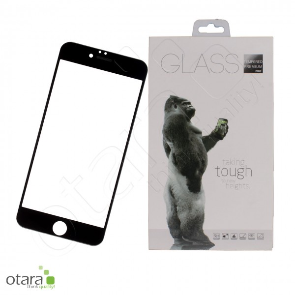 Schutzglas Premium 11D für iPhone 6 Plus/6s Plus, schwarz