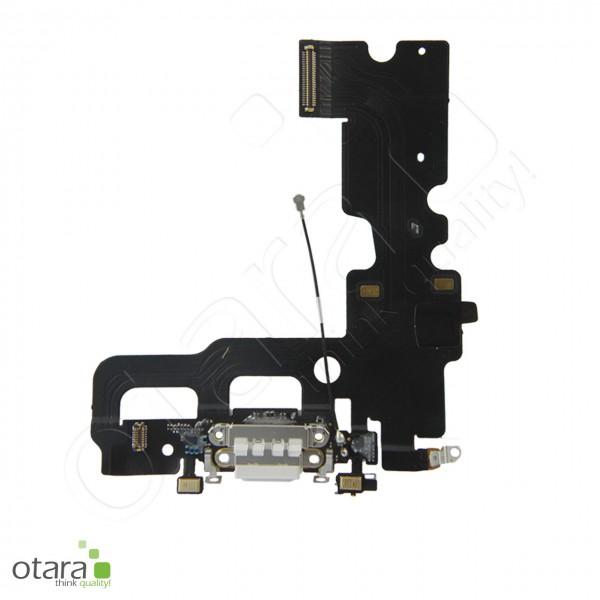 Lade Konnektor Flexkabel inkl. Mikrofon geeignet für iPhone 7 (Ori/pulled Qualität), weiß