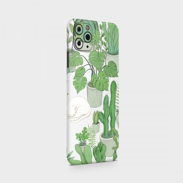 "GREEN MNKY Backcover Skin Smartphone 7"" (Design Serie) ""Greenery"" [3 Stück]"