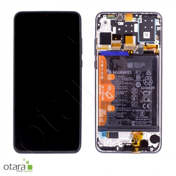 Displayeinheit Huawei P30 Lite new edition (MAR-LX1B), midnight black, Serviceware