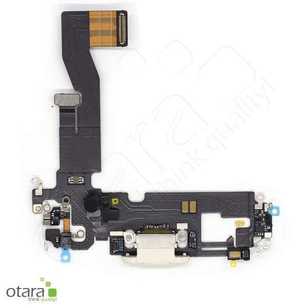 Lade Dock Connector Flex geeignet für iPhone 12 (Ori/pulled Qualität), weiß
