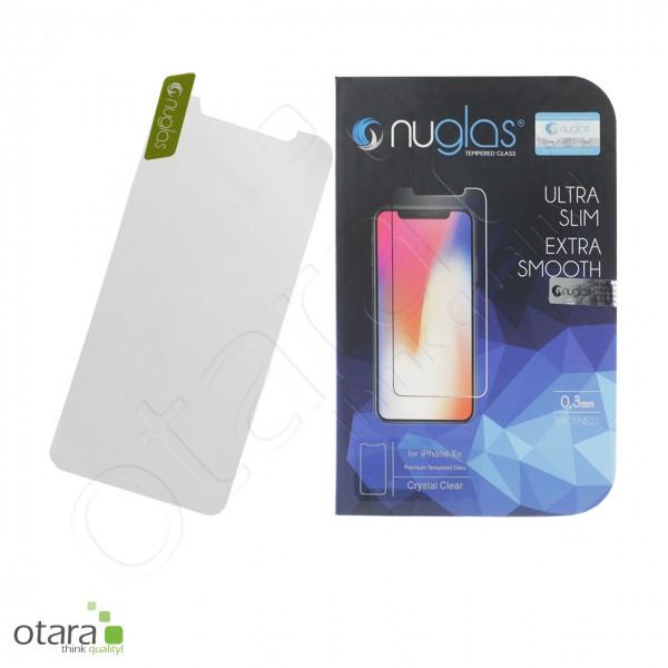 Schutzglas Nuglas (extra dünn 0,3 mm) iPhone 12/12 Pro (mit Verpackung)