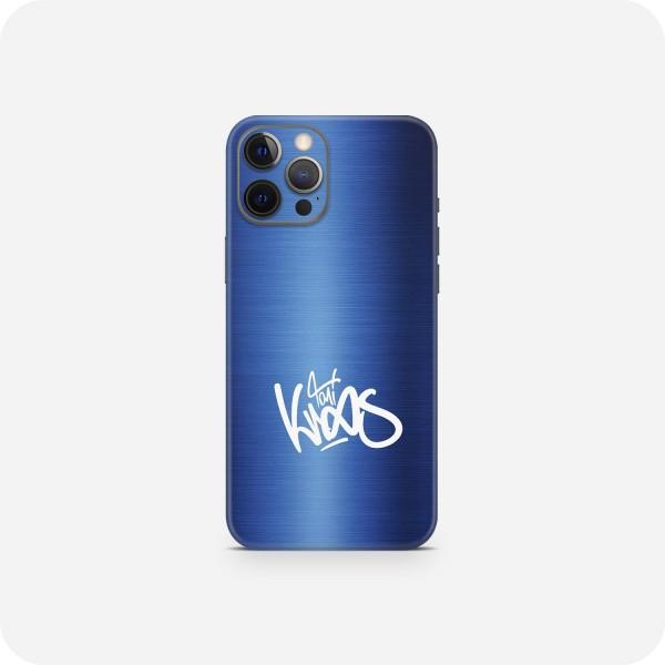 "GREEN MNKY Backcover Skin Smartphone 7"" (Toni Kroos Kollektion) ""Metallic Blue Signature"" [3 Stück]"