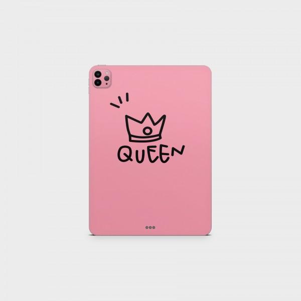 "GREEN MNKY Backcover Skin Tablet 11"" (Design Serie) ""Cute Queen"" [3 Stück]"