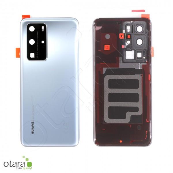 Akkudeckel Huawei P40 Pro, silver frost, Serviceware
