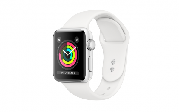Renewd© Apple Watch Series 4, 44mm (zert. aufbereitet), silber/weiß